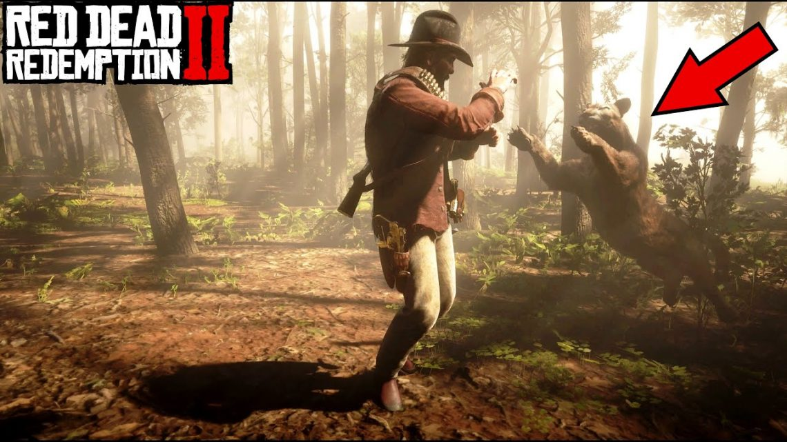 PANTHER ATTACK |  Quand les didacticiels tournent mal |  RDR2
