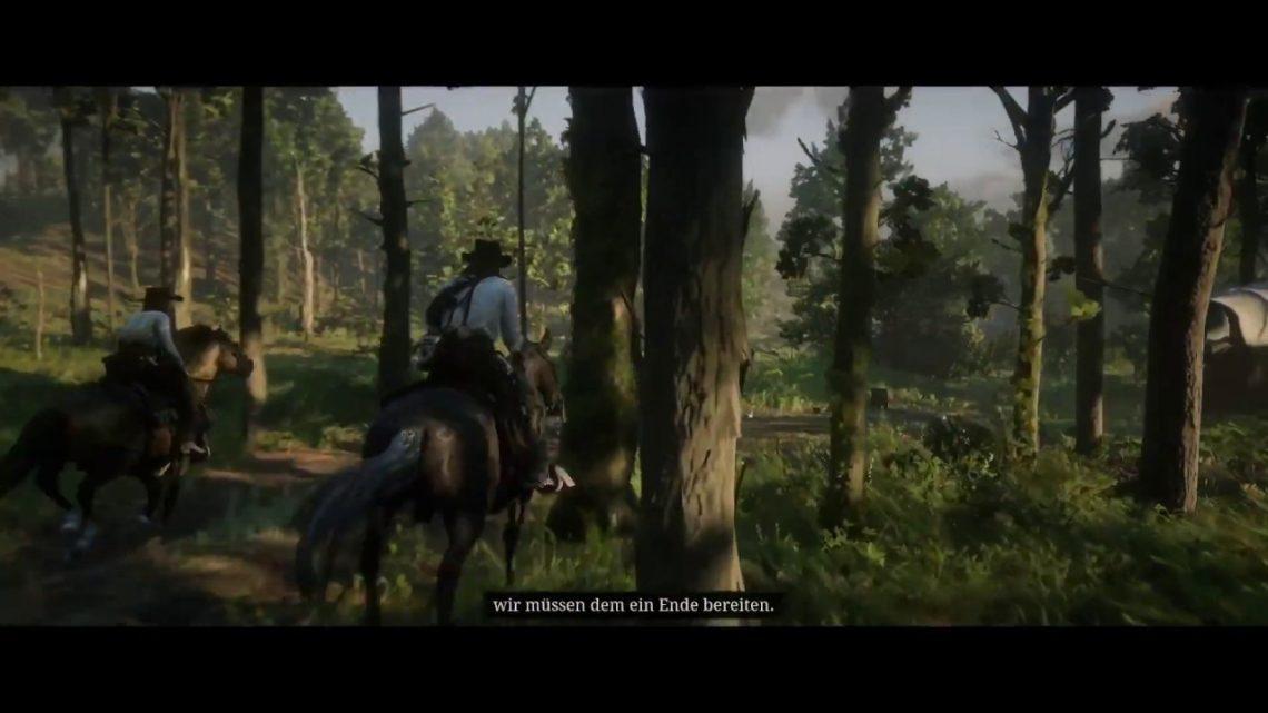 Rdr2 Horse vs. Tree fail