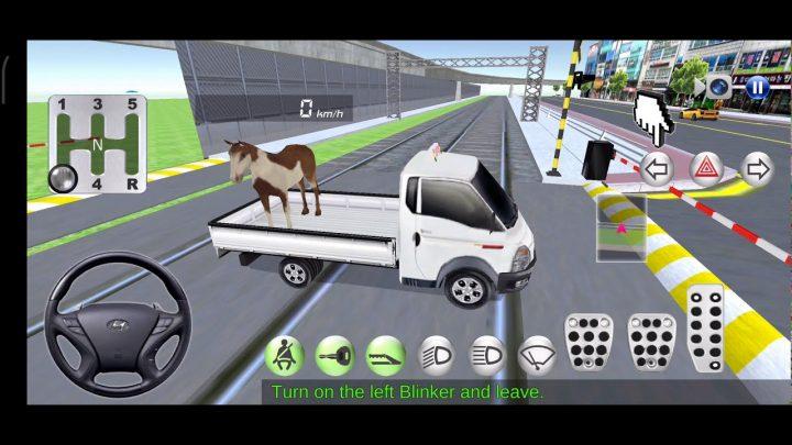 Train de la classe de conduite n ° 11 3D!  – Jeux de voiture Gameplay Android