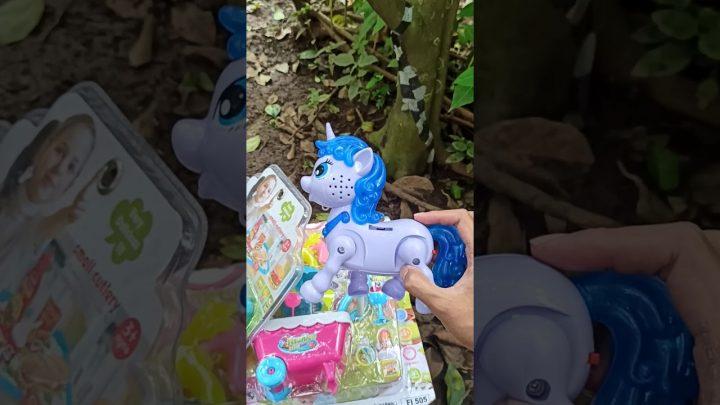 Trouver des jouets Mes petits jouets de poney, jouets de crème glacée, jouets de filles licorne cheval #Shorts