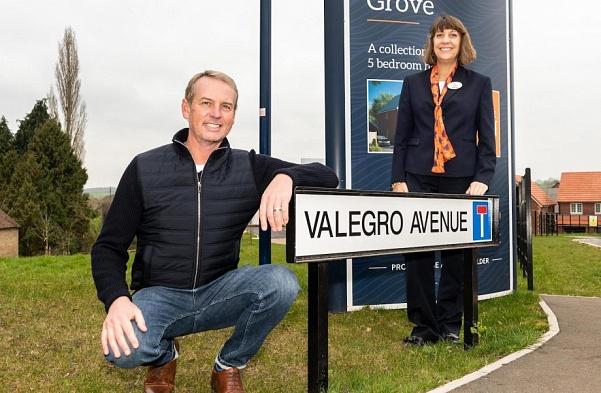 Une rue nommée d'après Valegro